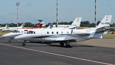 YU-PBB - Cessna 560XL Citation Excel - Air Pink