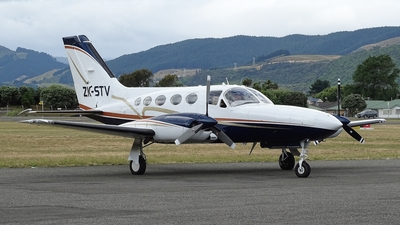 A picture of ZKSTV - Cessna 421C Golden Eagle - [421C0455] - © Tim Gorman
