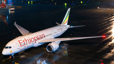 A picture of ETAOT - Boeing 7878 Dreamliner - Ethiopian Airlines - © Marcus Yu