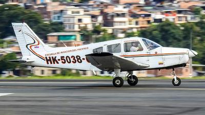 HK-5038-G - Piper PA-28-161 Warrior II - Escuela de Aviacion del Pacifico