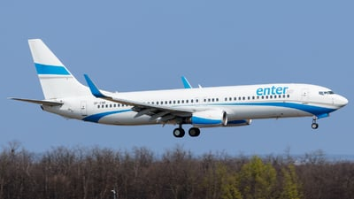 SP-ENR - Boeing 737-8Q8 - Enter Air