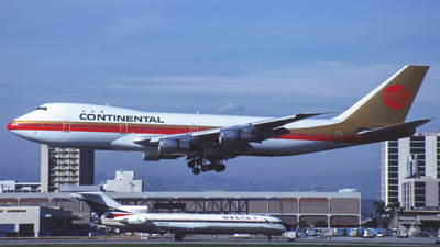 N606PE - Boeing 747-143 - Continental Airlines