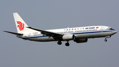 B-2650 - Boeing 737-89L - Air China