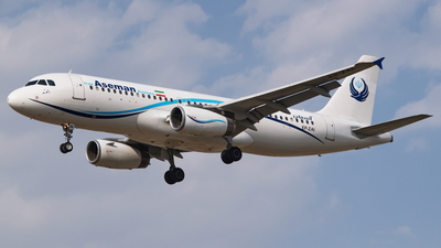 EP-ZAI - Airbus A320-231 - Iran Aseman Airlines