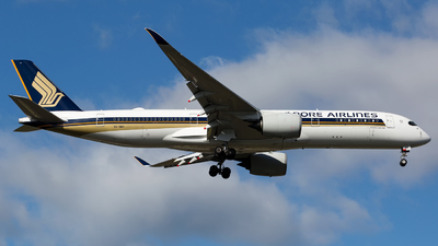 A picture of 9VSMH - Airbus A350941 - Singapore Airlines - © Chris Pitchacaren