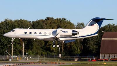 N869MD - Gulfstream G-IV - Private