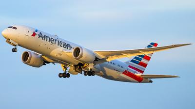 N817AN - Boeing 787-8 Dreamliner - American Airlines