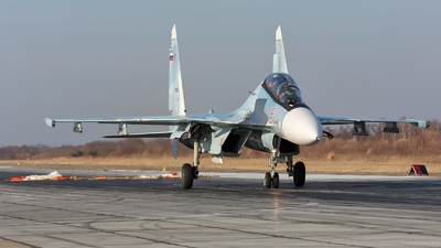 RF-91813 - Sukhoi Su-30SM - Russia - Air Force