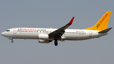 EX-37802 - Boeing 737-82R - Air Manas