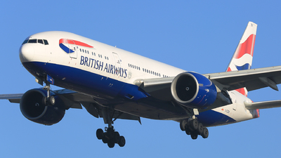 G-ZZZB - Boeing 777-236 - British Airways