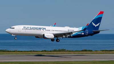 HL8376 - Boeing 737-8JP - Fly Gangwon