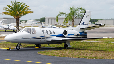 N577JT - Cessna 501 Citation - Private