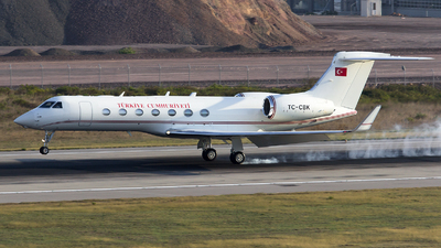 TC-CBK - Gulfstream G550 - Turkey - Government