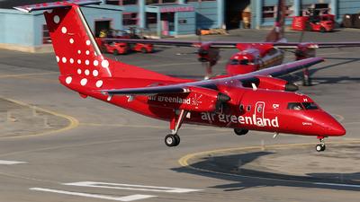 A picture of OYGRH - De Havilland Canada Dash 8200 - Air Greenland - © Aaron Willis