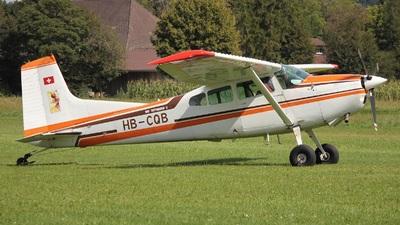 A picture of HBCQB - Cessna A185F Skywagon - [18504093] - © Manueljb