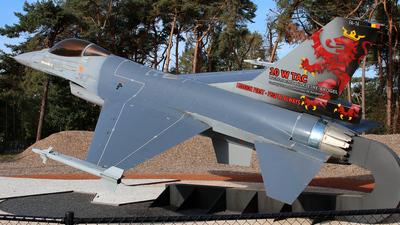 FA-16 - General Dynamics F-16A Fighting Falcon - Belgium - Air Force