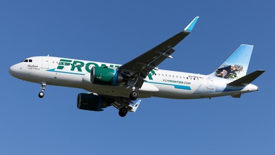 A picture of N379FR - Airbus A320251N - Frontier Airlines - © Cary Liao