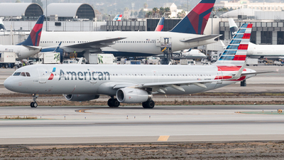 N101NN - Airbus A321-231 - American Airlines
