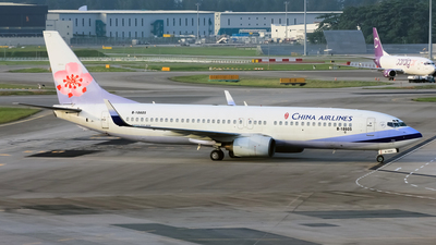 B-18605 - Boeing 737-809 - China Airlines