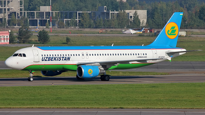 UK-32012 - Airbus A320-214 - Uzbekistan Airways
