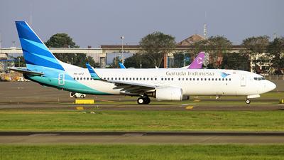 PK-GFZ - Boeing 737-86N - Garuda Indonesia