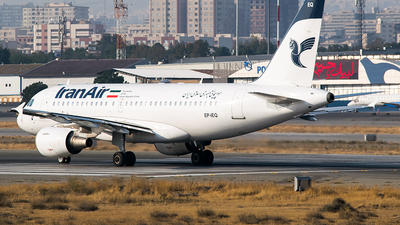EP-IEQ - Airbus A319-112 - Iran Air