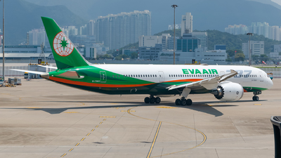 A picture of B17883 - Boeing 7879 Dreamliner - EVA Air - © Fly your dreams