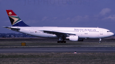 ZS-SDC - Airbus A300B2K-3C - South African Airways