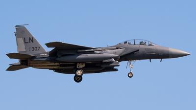 91-0307 - McDonnell Douglas F-15E Strike Eagle - United States - US Air Force (USAF)