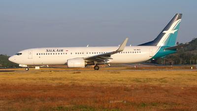 9V-MGE - Boeing 737-8SA - SilkAir