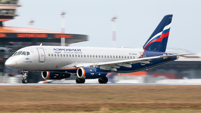 A picture of RA89025 - Sukhoi Superjet 10095B - Aeroflot - © Svyatoslav