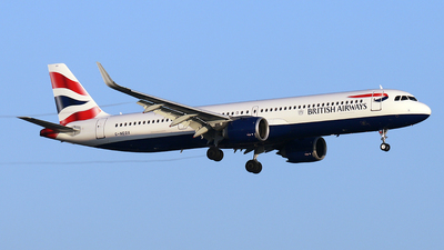 G-NEOX - Airbus A321-251NX - British Airways