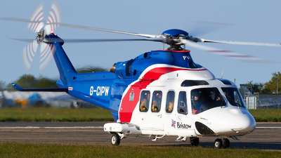 A picture of GCIPW - AgustaWestland AW139 - Bristow Helicopters - © David Blaker