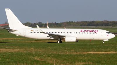 D-ABAF - Boeing 737-86J - Eurowings