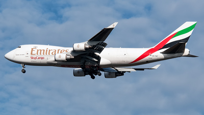 OO-THD - Boeing 747-4HAERF - Emirates SkyCargo (TNT Airways)