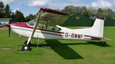 A picture of GBWWF - Cessna 185A Skywagon - [1850240] - © Adam Loader