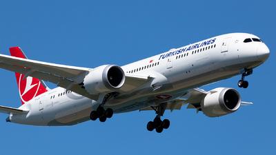 TC-LLN - Boeing 787-9 Dreamliner - Turkish Airlines