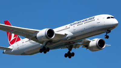 A picture of TCLLN - Boeing 7879 Dreamliner - Turkish Airlines - © Ömür Sadikoglu