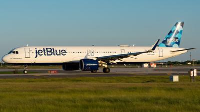 N2038J - Airbus A321-271NX - jetBlue Airways