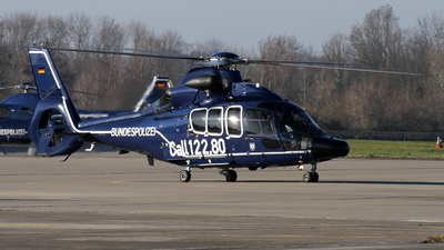 D-HLTL - Eurocopter EC 155B Dauphin - Germany - Bundespolizei