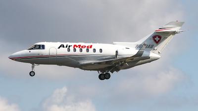 N823AM - Hawker Beechcraft 800XP - AirMed International