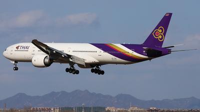 HS-TKK - Boeing 777-3ALER - Thai Airways International
