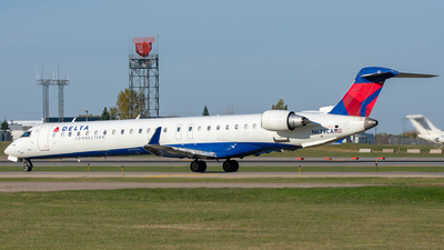 A picture of N679CA - Mitsubishi CRJ900LR - Delta Air Lines - © Lynden Westrich