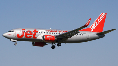 G-GDFT - Boeing 737-36Q - Jet2.com