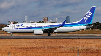 JA54AN - Boeing 737-881 - All Nippon Airways (ANA)