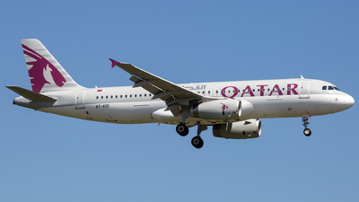 A7-ADD - Airbus A320-232 - Qatar Airways