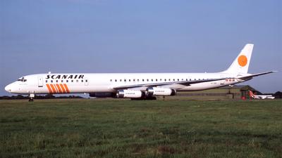 SE-DBK - Douglas DC-8-63 - Scanair