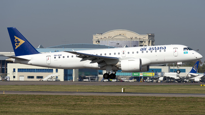 P4-KHC - Embraer 190-300STD - Air Astana