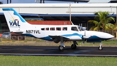 A picture of N871VL - Cessna 402C - Vieques Air Link - © Angel Natal