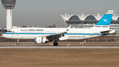 9K-AKH - Airbus A320-214 - Kuwait Airways